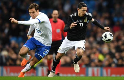 Argentino venció a Italia. Foto: AFA.