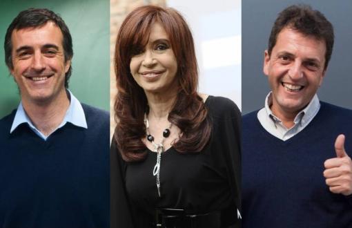 Bullrich, Cristina y Massa lanzaron sus spots publicitarios.