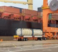 TecPlata suma cargas de YPF y Dow e incrementa su actividad portuaria