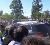 Desde sectores del marcrismo culparon al Gobernador de La Pampa Carlos Verna por los incidentes.