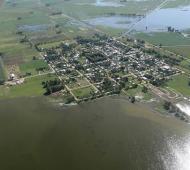 Producto de las inundaciones, se interrumpió la siembra de trigo y se cerraron 58 tambos.