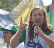 Oscar De Isasi, Secretario General de Ate y la CTA bonaerense.