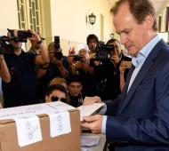Bordet quedó cerca de la reelección.