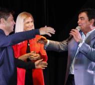 Kicillof estará acompañado por el alcalde local Fernando Espìnoza.