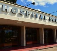 La mujer fue atendida en el Hospital San José.