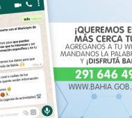 El Municipio busca acercar la gestión a los vecinos mediante Whatsapp.