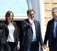 Macri estará acompañado por Vidal y Garro.