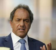 Scioli ratificó su candidatura a Presidente.