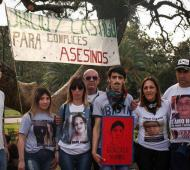 Nutrida movilización contra la violencia institucional en la capital provincial.