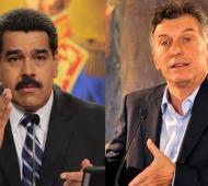 Macri volvió a embestir contra el Gobierno de Venezuela.