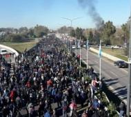 La protesta contra el Gobierno de Macri comenzará a las 7.00.