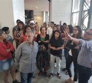 """""""Me llevo una imagen muy positiva de la gestión del intendente Julio Zamora"""", dijo la Ministra."""