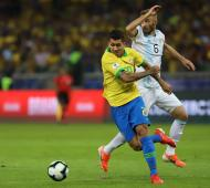 Se terminó el sueño. Brasil le ganó a Argentina 2 a 0.