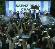 Macri estuvo este jueves en Chaco.