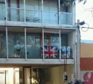 Indignación contra el platense que colgó una bandera británica el 2 de abril.