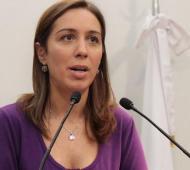 """""""A todas nos ha pasado alguna situación de violencia de género"""", dijo Vidal."""