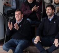 Basavilbaso  estuvo en Mar del Plata junto al candidato a Intendente local Guillermo Montenegro.