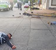 Fatal desenlace de una persecusión policial en Villa Ballester.