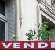 Se desplomó la venta a inmuebles vía créditos hipotecarios.