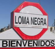 Loma Negra afirmó reducción de personal en Barker, Benito Juárez.