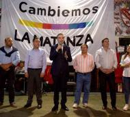 Juntos por el Cambio desembarcó en La Matanza.