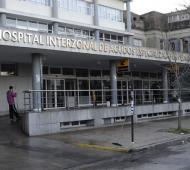 El aparato volverá este viernes el Hospital platense.
