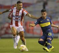 Boca cayó en el debut de Alfaro.