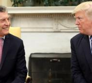 Macri se reúne con Trump e intentará recuperar confianza en los mercados.