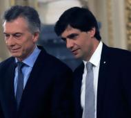 Macri y Lacunza viajan a los Estados Unidos.