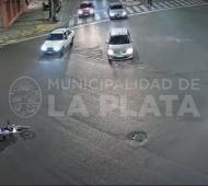 Foto: Captura de cámara de seguridad del Municipio.