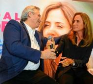 Tolosa Paz, primera candidata en la Provincia, participará del acto junto a su segundo, Daniel Gollán.