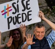 Macri sigue de gira de campaña.