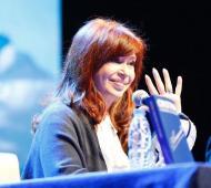 Cristina estará el sábado en La Plata.