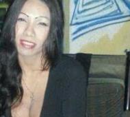 La víctima, Laly Escobar, de 36 años.
