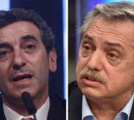 Randazzo y Alberto Fernández de campaña por la cuarta sección.