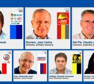 Siete candidatos buscan quedarse con la Gobernación.