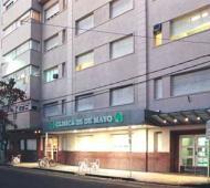 La clínica donde se encuentra el paciente.