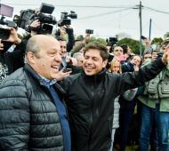 Kicillof sale de campaña buscando revertir la derrota de las PASO.