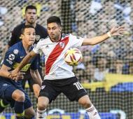 Martínez estaba jugando un partidazo, marcó el primer gol, pero tuvo que salir lesionado.