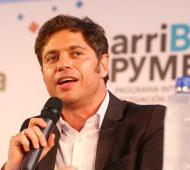 Kicillof presenta el programa arriBA PyMEs en Tortuguitas.