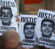 No cesan los pedidos de Justicia por Fernando Báez Sosa.
