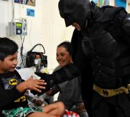 El Batman Solidario fue nombrado por el Concejo como Ciudadano Ilustre de La Plata en 2019.