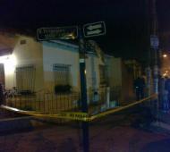 El lugar del ataque. Foto: Semanario Actualidad.