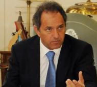 Daniel Scioli recibió a intendentes de la primera sección electoral.