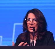 María Eugenia Bielsa, Ministra de Desarrollo Territorial y Hábitat.