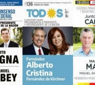 A un mes de las PASO, dan a conocer los montos de campaña. Foto: Prensa
