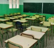 Se desprendió el cielo raso de una escuela en General Belgrano. Foto: De la bahía