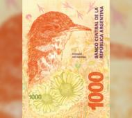 Desde este viernes circula el billete de 1000 pesos