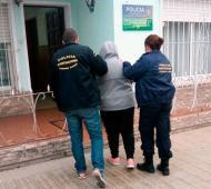Empleadas de la Dirección de Bromatologia de Olavarría. Foto: Prensa