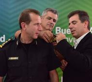 El flamante Superintendente de Seguridad Región Atlántica